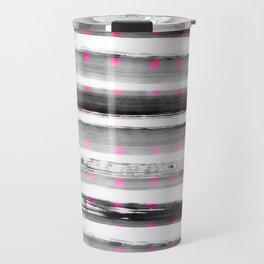 abstract watercolor dots Travel Mug