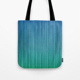 Tropical Island Aqua Blue Beach Hut Tote Bag