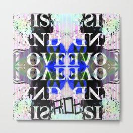 PISS AND LOVE Metal Print