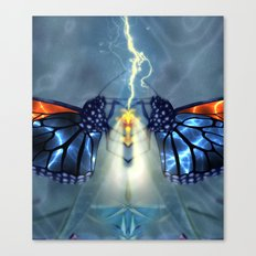 Nature, the ultimate power source Canvas Print