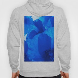 Blue Poppies #decor #society6 #buyart Hoody
