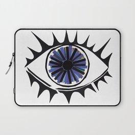 Blue Eye Warding Off Evil Laptop Sleeve