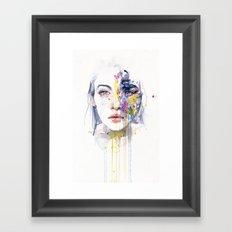 miss bow tie Framed Art Print