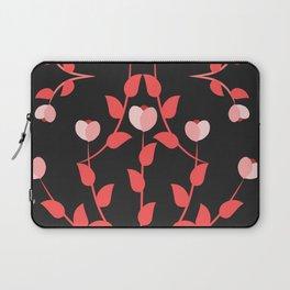 Pink floral fantasy dark Laptop Sleeve
