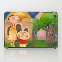 mom iPad Cases featuring Mom by Gabriela Granados
