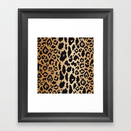 Leopard Print Linen by saffronavenue