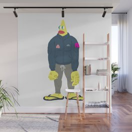 yellow guy Wall Mural