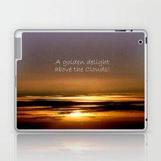 Golden Delight Laptop & iPad Skin