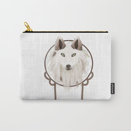 Tribal Wolf Sticker Carry-All Pouch