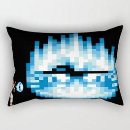 Ryu Hadouken Fireball Rectangular Pillow