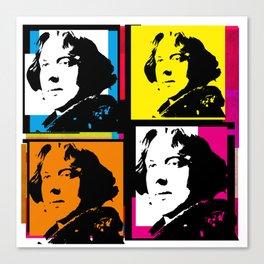 OSCAR WILDE (4-UP POP ART COLLAGE) Canvas Print