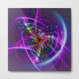 Blooming Colors Metal Print
