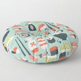 Sushi Dreams – Mint Floor Pillow