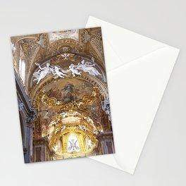 Santa Maria dell'Orto Church, Rome, Italy Stationery Cards
