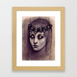 Scribe Framed Art Print