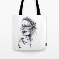butterfly Tote Bags featuring Tremore by agnes-cecile