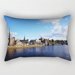 On The Bridge - Inverness - Scotland Rectangular Pillow