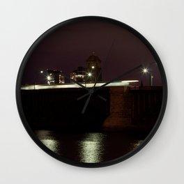 Boston (3 of 8) Wall Clock
