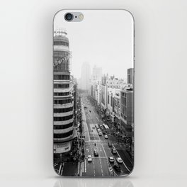 Gran Via in Madrid iPhone Skin
