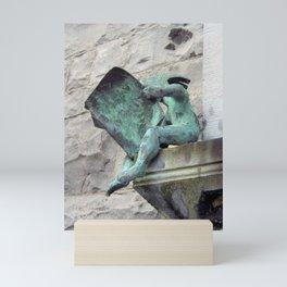 The Avid Reader Mini Art Print