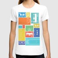cassette T-shirts featuring Cassette Heaven by Scott - GameRiot