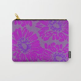 Bright Pink Sunflowers Carry-All Pouch