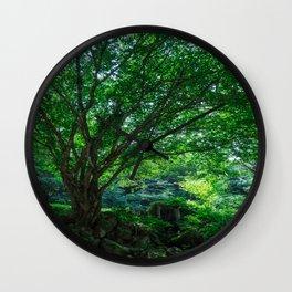 The Greenest Tree Wall Clock