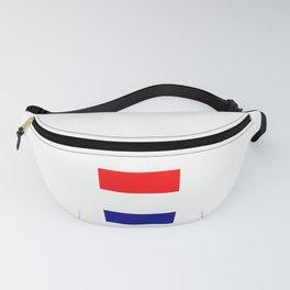 Flag of Netherlands 2 -pays bas, holland,Dutch,Nederland,Amsterdam, rembrandt,vermeer. Fanny Pack