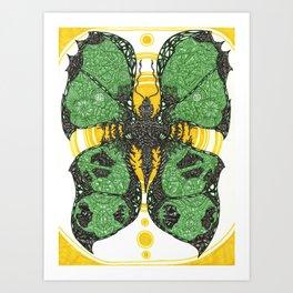 Comfort in the Final Flutter Art Print