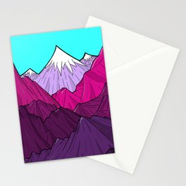 The Purple Mounts Stationery Cards