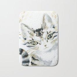 Curiosity Cat Bath Mat