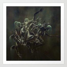 Sleep Paralysis 47 Art Print