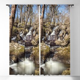 Becky Falls in Spring Blackout Curtain