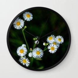 Little Daisies Wall Clock