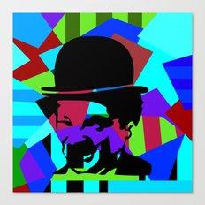 Pop Art Movie Star No. 5 Canvas Print
