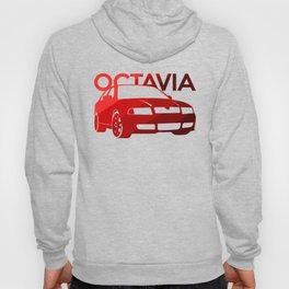 Skoda Octavia - classic red - Hoody