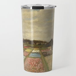 """Vincent van Gogh """"Bulb Fields, also known as Flower Beds in Holland"""" Travel Mug"""