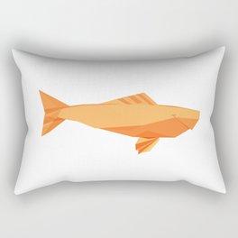 Origami Carp Rectangular Pillow