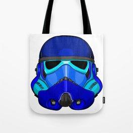 Blue Trooper Tote Bag