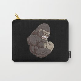 Gorilla At The Gym | Fitness Training Muscles Carry-All Pouch