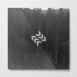 Cedars Metal Print