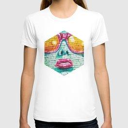 Graffiti Beauty - Geometric Photography T-shirt
