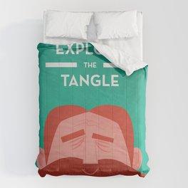 IOTA - Explore the Tangle II Comforters