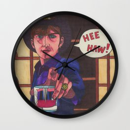 Cowboy Albarn Wall Clock