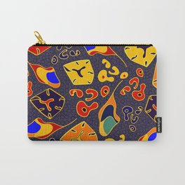 African Fancy Carry-All Pouch