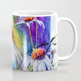 Cone Flowers by Maureen Donovan Coffee Mug