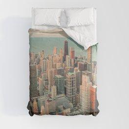 CHICAGO SKYSCRAPERS Comforters