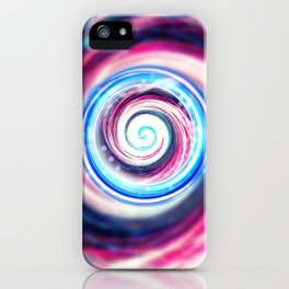 iDeal - Cotton Candy Swirl iPhone Case