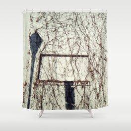 shadowy Shower Curtain