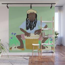 Jah P Wall Mural